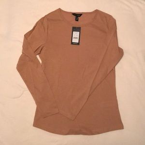 New Look basic top in camel size UK 8 EU 36 NWT
